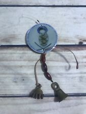 Vtg Small Trinket Charm Hanging Decor Bells Wind Chime Old Style Primitive