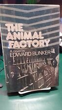 The Animal Factory by Edward Bunker (1977, HC, SIGNED)