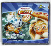 NEW The Adventure Begins Audio 4 CDS #1 Volume In Odyssey Unabridged Family Vol