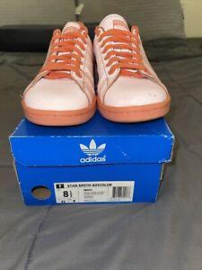 adidas stan smith Adicolor Sunglo Reflective Sneakers S80251 Sz 8.5 Preowned