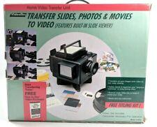 VideoTec Home Video Transfer Unit Transfer Slides Photos Movies to Video