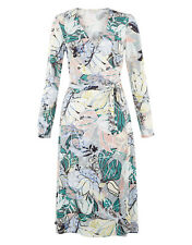 Monsoon Thea Wrap Dress Size 16 BNWT