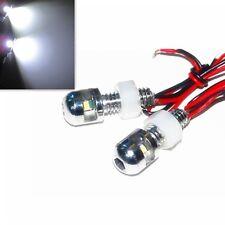 License Number Plate Tag led bolt lights For Honda Yamaha Suzuki Kawasaki Ducati