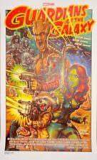 Rockin Jelly Bean RJB Guardians of the Galaxy Print Poster Mondo Artist