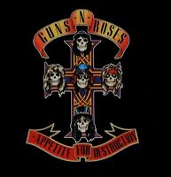 GUNS N ROSES appetite for destruction (CD album) hard rock