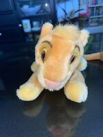 Vintage Disney Applause Lion King Baby Simba Bean Bag Plush
