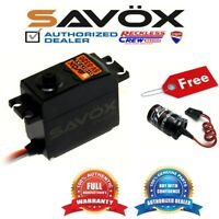 Savox SV-0320 High Voltage  Digital Servo + Free Glitch Buster