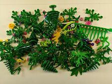 LEGO Huge Mixed Bulk Lot Plant Flowers Leaf Bush Greenery Garden Tree Palm