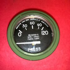 Oil Pressure Gauge / STD 0-120psi ; M939  M998 ; MS24540-2  8674895  4060-5-517C