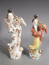 Lot 2 Antique China Chinese White Porcelain Kwan Guan Yin Porcelain Statues #2