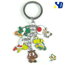 New! Nintendo Super Mario Brothers Yoshi Keyring Key Ring/Chain Pendant Cosplay