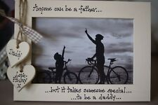 Personalised Photo Frame by Filly Folly! Father's Day, Fathers Day Gift! 6x4''