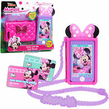 Disney Junior Minnie Mouse Chat With Me Cell Phone Set Kids 3y Cellphone Toy