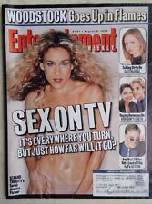 Vintage Entertainment Weekly - Sex On TV - Sex And The City - 8/6/99 #497  SJP
