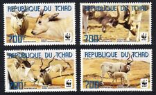 WWF Addax 4v from Chad MNH