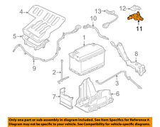 LAND ROVER BATTERY NEGATIVE CABLE LHD 5.0L V8 LR4 RR SPORT LR048601 OEM