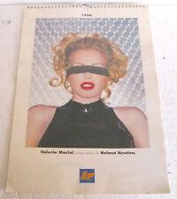 VALERIA MARINI fotografata da Helmut Newton - Calendario 1996 IP