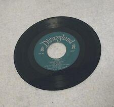 Disneyland Record Label - DBR-27 Rare Green Label 45 RPM Vinyl - Bambi