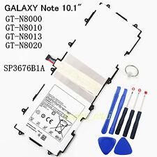 Neuf Batterie SP3676B1A Pour Samsung GALAXY Note 10.1 GT-N8000 N8010 N8013 N8020