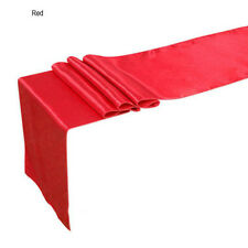 "13 Colors 12""*108"" Satin Table Runner Wedding Party Decorations 30 x 275cm HG"