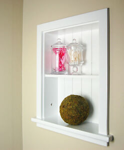 Recessed Aiden Wall Niche by Fox Hollow Furnishings (14x18) - 4 colors!
