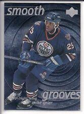 Mike Grier 1997-98 Upper Deck Smooth Grooves #SG25