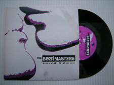 THE BEATMASTERS-Dunno What it is (about you)/The Whisper, left - 44 ex