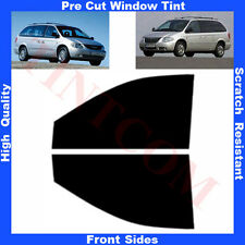 Pre Cut Window Tint Chrysler Grand Voyager 2001-2008 Front Sides Any Shade