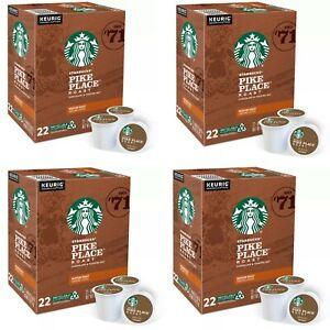 *NEW*Starbucks Pike Place Medium Roast Coffee-88 Count Keurig K-Cups EXP:02/2022