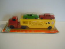 Vintage 1969 Tootsietoy RC 180 Auto Transporter With Cars And Ramp Mint U.S.A.