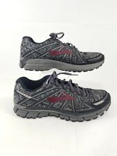 Mens Brooks Adrenaline GTS 17 1102411D015 Charcoal Black Running Shoe Size 9.5 M