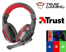 CUFFIE GAMING CON MICROFONO Trust ZIVA PER PC XBOX ONE PS4 SWITCH 21953