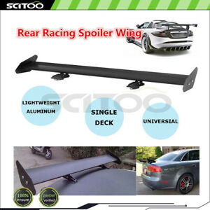 Maintain Traction Universal Car Aluminum GT Style Truck Racing Spoiler Wing