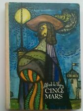 Cinq Mars - Alfred de Vigny (1972) Polish book illustrated Polska