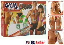 GYM FORM DUO Electronic Muscle Toner Fitness System Body Massager *As Seen On TV