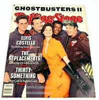 ROLLING STONE MAGAZINE 1 JUNE 1989 ISSUE 553 GHOSTBUSTERS II - ELVIS COSTELLO
