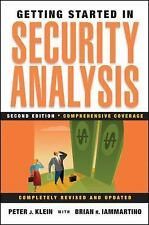 Getting Started in Security Analysis (Getting Started In.....)