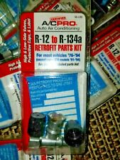 A/C PRO R-12 TO R-134a AIR CONDITIONER RETRO FIT PARTS KIT #VA-LH8 NEW