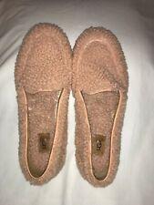 UGG Australia Hailey Fluff Loafers Suntan Sheepskin/Leather  Comfort 8 EU 39
