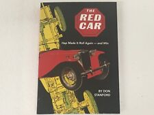 The RED CAR - New Printing by DON STANFORD - MG TA TB TC TD TF