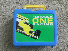RARE VINTAGE FORMULA ONE RACING LUNCH BOX 1988 IMPACT INTERNATIONAL. FORMULA 1