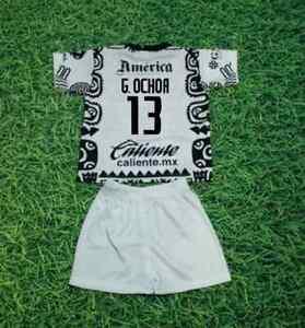 New Club America Aguilas Trajecito Niño MEXICO AZTECA G.OCHOA