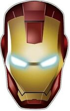 IRON MAN HELMET STICKER HARD HAT STICKER LAPTOP STICKER