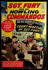 Sgt. Fury And His Howling Commandos #7 Court Martial 1964 Comic Nice Low Grade