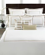 Hotel Collection Tuxedo Champagne California King Bedskirt