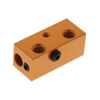 3D Printer Aluminium Heat Block for 3D Printer Reprap V6 -head Extruder