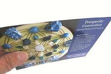 PROSPERITY CONNECTION Grid Card 4x6inch Information on Crystal Layout for Wealth