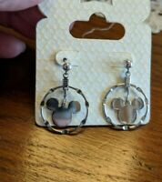 Original Disney Parks Sterling Silver Mickey Mouse Earrings