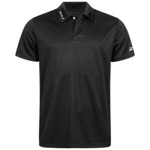 2XU Event Herren Freizeit Fitness Mode Kurzarm Polo-Shirts MR3208a-BLK-BLK neu