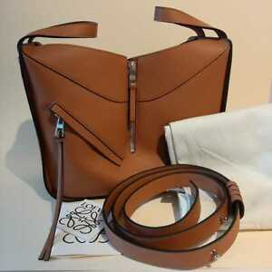 Authentic Loewe Hammock Bag Tan Colour Size Small